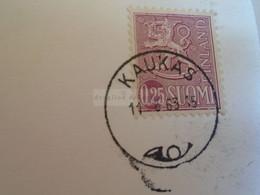D173606  Esperanto Correspondence  1963  Kaukas Finland Suomi  To  Miskolc Hungary - Esperanto