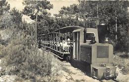 - Charente Maritime -ref-H757- Ile D Oleron - Petit Tramway De St Trojan - Tramways - St Trojan - - Ile D'Oléron