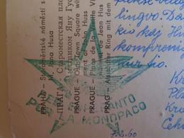 D173609  Esperanto Correspondence  Ca 1960    Praha Winter Scene -sent From Plzen To Miskolc  - Jan Kren - Esperanto