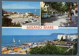 °°° Cartolina - Misano Mare Vedute Viaggiata °°° - Rimini
