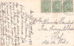 BELGIUM - POSTCARD 1921-> HAL /AS172 - 1915-1920 Albert I