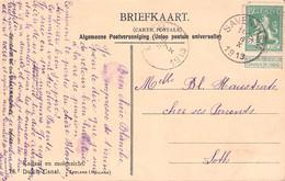 BELGIUM - POSTCARD 1913 -> LOTH /AS173 - Autres