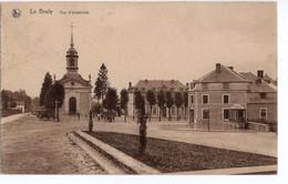 CPA  NELS THILL - Le Bruly - Vue D'ensemble Sur La Place - Animée - Eglise. - Couvin
