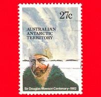 Territorio Antartico Australiano - AAT  - Usato- 1982 - 100° Anniversario Della Nascita Di Douglas Mawson - 27 - Used Stamps