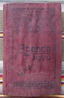 54 PONT A MOUSSON FOUG Tuyaux En Fonte  Agenda 1920 GAZ Hauts Fourneaux Et Fonderies - Petit Format : 1901-20