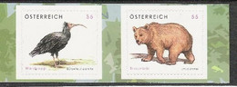 2006 Austria  Österreich  Mi. 2622-3  **MNH   Waldrapp U. Braunbähr - 2001-10 Unused Stamps