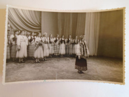 D173613  Esperanto Correspondence   RIGA LATVIA  Old Photo  Folklore - Traditional  Costumes, Dancers  1961 - Esperanto