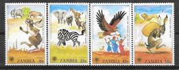 Zambie N° 193/96 YVERT NEUF * - Zambia (1965-...)