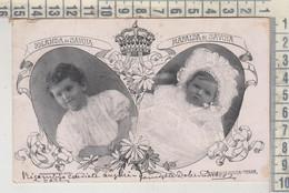 CASE REALI  IOLANDA DI SAVOIA  MAFALDA DI SAVOIA VG 1903 - Familles Royales