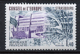 France - Frankreich Service 1981 Y&T N°S65 - Michel N°DCE27 *** - 1,40f Conseil De L'Europe - Neufs