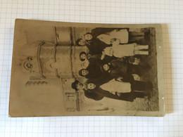 20BC - Photo Carte Famille Bouffioulx Chatelet à Dinant - Cars