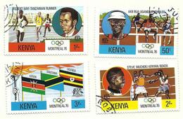 1976 - Kenya 62/65 Olimpiadi Di Montreal - Estate 1976: Montreal