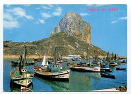 Spain - Calpe - Port - Boats - Fishing - Alicante