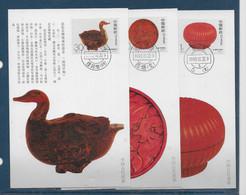 Chine - Carte Maximum - Briefe U. Dokumente