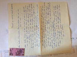 20BC - Lettre Amoureux Avec Ticket Chemin De Fer Souvenir Charleroi Sud Heist Blankenberg 1967 - Unclassified