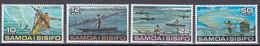 Samoa 1976 - Mi.Nr. 333 - 336 - Postfrisch MNH - Fischfang Fishing - Samoa