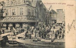 Pays-Bas -  Alkmaar - De Kaasmarkt In Volle Gang - Alkmaar