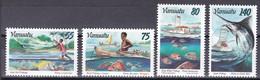 Tr_ Vanuatu 1996 - Mi.Nr. 1000 - 1003 - Postfrisch MNH - Fischfang Fishing - Vanuatu (1980-...)
