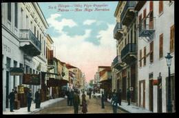 Πάτρα  Patras Rue Riga Ferraiou 1918 Animée - Greece