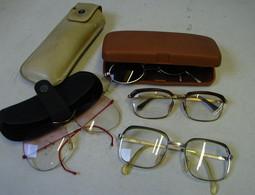 Lot. 1392. Lot De 4 Paires De Lunettes Dont Une Solaire - Glasses