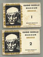 Brugge - 2 Boekjes 1 En 2 Elk 10 Postkaarten Guido Gezelle - Brugge