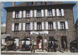 CPM 12 AUBRAC ... Café-Restaurant Chez Germaine (Livenais SA030913) - France