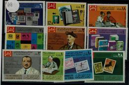 YEMEN 1968 INTERNATIONAL PHILATELY MI No 575-84 MNH VF!! - Tag Der Briefmarke