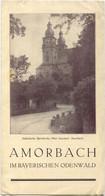 Deutschland - Amorbach 30er Jahre - Faltblatt Mit 6 Abbildungen - Dépliants Turistici