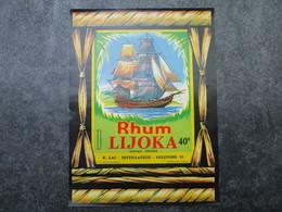 Rhum LIJOKA - R. LAC-Distillateur à EGLETONS - Rhum