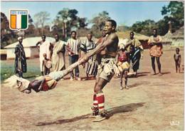 République De La Côte-d\'Ivoire - Danseurs Acrobatiques Guérés - Costa De Marfil