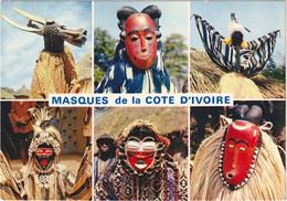 République De La Côte-d\'Ivoire - Masques De La Côte D\'Ivoire - Costa De Marfil