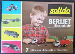"""Solido - Camion BERLIET """"Strader"""" à Construire, 7 Véhicules Différents - Other"""