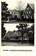 Nederland, EMMEN, Landbouwhuishoudschool (1950s) Ansichtkaart - Emmen