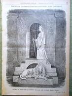 L'illustrazione Popolare 30 Ottobre 1898 Commemorazione Morti Fascioda Strozzi - Voor 1900