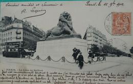 Paris - Lion De Belfort - Statues