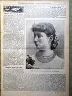 L'illustrazione Popolare 6 Novembre 1898 Pierre Chavannes Murat Giaracà Verona - Voor 1900