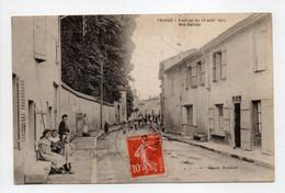 - CPA PRISSÉ (71) - Festival Du 25 Août 1912 - Rue Balvay (belle Animation) - Photo Romand - - Otros Municipios