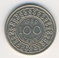 SURINAME 1989: 100 Cents, KM 23 - Suriname 1975 - ...