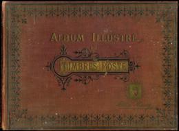 Album Illustré De Timbres-Poste A.Maury (daté De 1907) - Unclassified