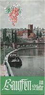Deutschland - Lauffen Am Neckar 1955 - Faltblatt Mit 7 Abbildungen - Dépliants Turistici
