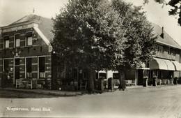 Nederland, WAPSERVEEN, Hotel Blok (1951) Ansichtkaart - Holanda