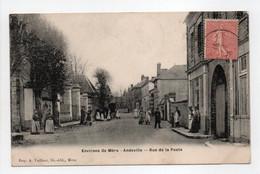 - CPA ANDEVILLE (60) - Rue De La Poste 1906 (avec Personnages) - Edition A. Vaillant - - Otros Municipios