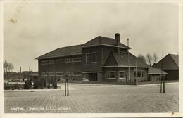 Nederland, MEPPEL, Openbare U.L.O.-School (1940s) Ansichtkaart - Meppel