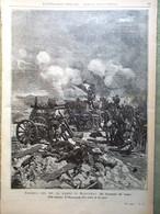 L'illustrazione Popolare 20 Novembre 1898 Sortita Marghera Rossi Guerrero Negri - Voor 1900