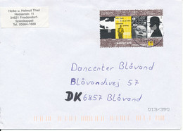 Germany Cover Sent To Denmark 26-7-2003 With Single EUROPA CEPT Stamp 2003 - Storia Postale