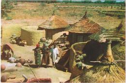 Haute-Volta - Village De Potiers - Burkina Faso