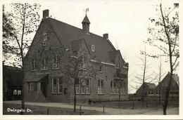 Nederland, DWINGELO, Gemeentehuis (1940) Ansichtkaart - Dwingeloo