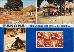 Fakaha - Fabrication Des Toiles De Korhogo - Costa De Marfil