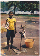Abidjan - Petit Marchand De Poisson Au Bord De La Lagune - Costa De Marfil