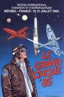 Carte Postale - BD - Festival D'aviation - Méribel - 1985 - Francis BERGESE - ( CP52 ) - Postcards